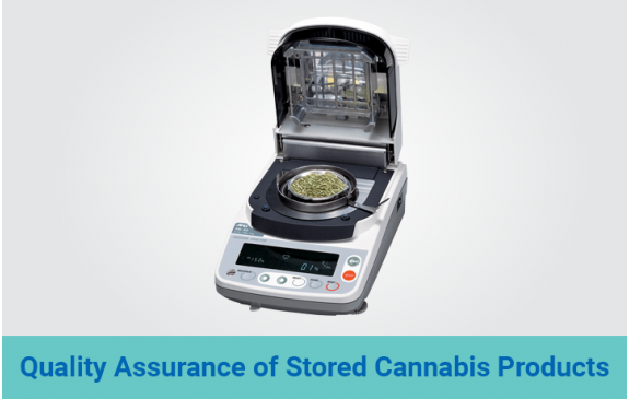 Quality Assurance of Stored Cannabis Products